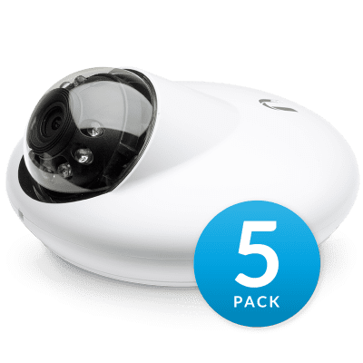 IP-камера Ubiquiti UniFi G3 Dome (упаковка 5 шт)