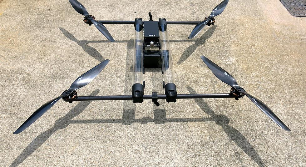 Квадрокоптер на водороде может летать несколько часов без подзарядки