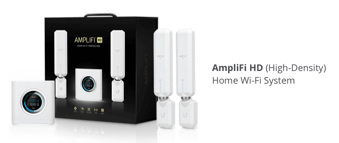 AmpliFi HD 3-Pack Includes an AmpliFi Router and 2 MeshPoints