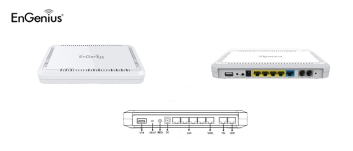Wireless N600 Dual Band VoIP Router