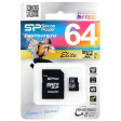 Карта памяти microSD Silicon Power 64 GB (class 10) фото 2