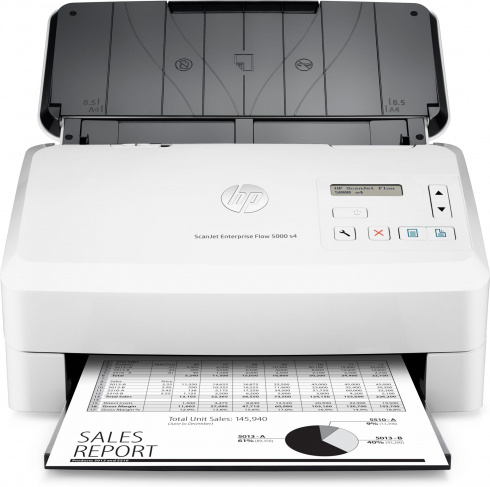 Сканер с полистовой подачей HP ScanJet Enterprise Flow 5000 s4