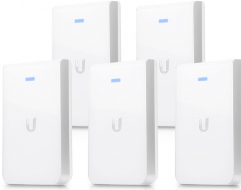 Точка доступа Ubiquiti UniFi AP AC In-Wall 5-Pack