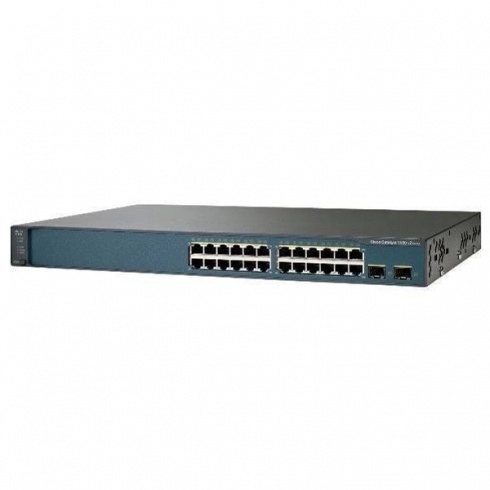 Коммутатор Cisco Catalyst WS-C3750V2-24PS-S
