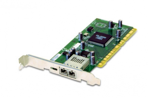 Сетевой адаптер PCI Gigabit Ethernet D-Link DGE-550SX, 1 порт