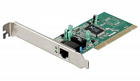 Сетевой адаптер PCI Gigabit Ethernet D-Link DGE-528T, 1 порт