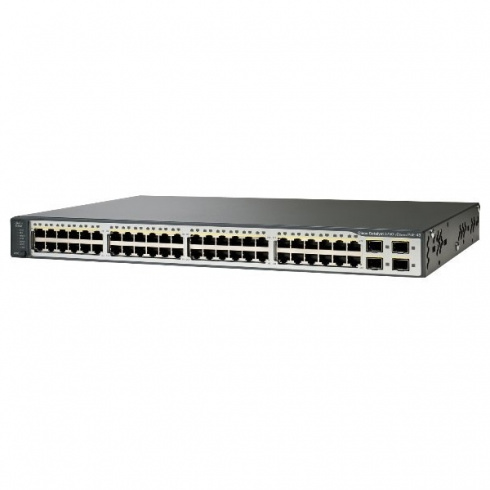 Коммутатор Cisco Catalyst WS-C3750V2-48PS-S